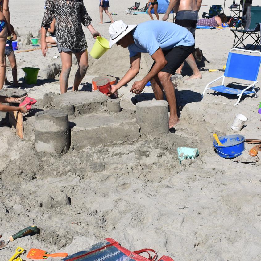 busy on the beach - 1