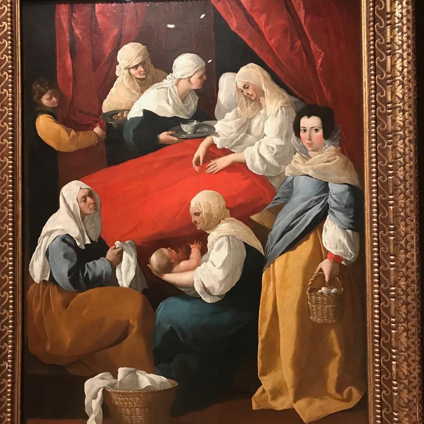 Zurbaran 1598-1663 Birth of Mary