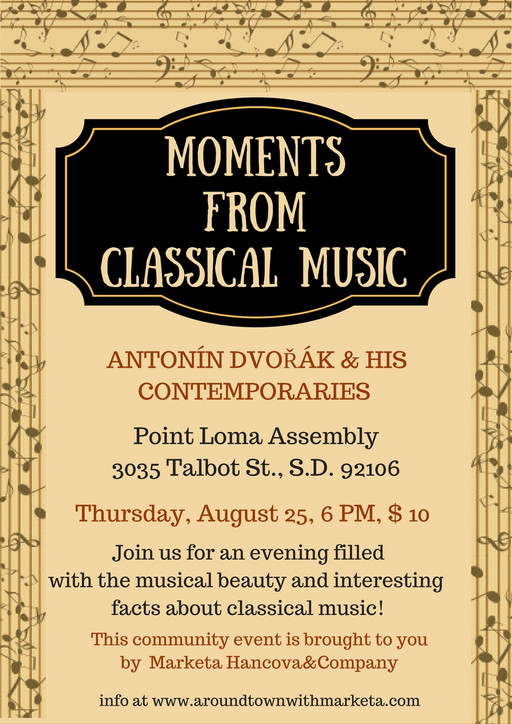 Let Classical Music Rob your Quiet! Antonín Dvořák in the Focus