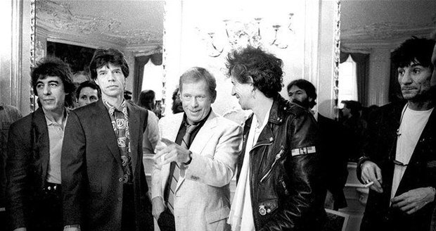 rolling stones and V. Havel