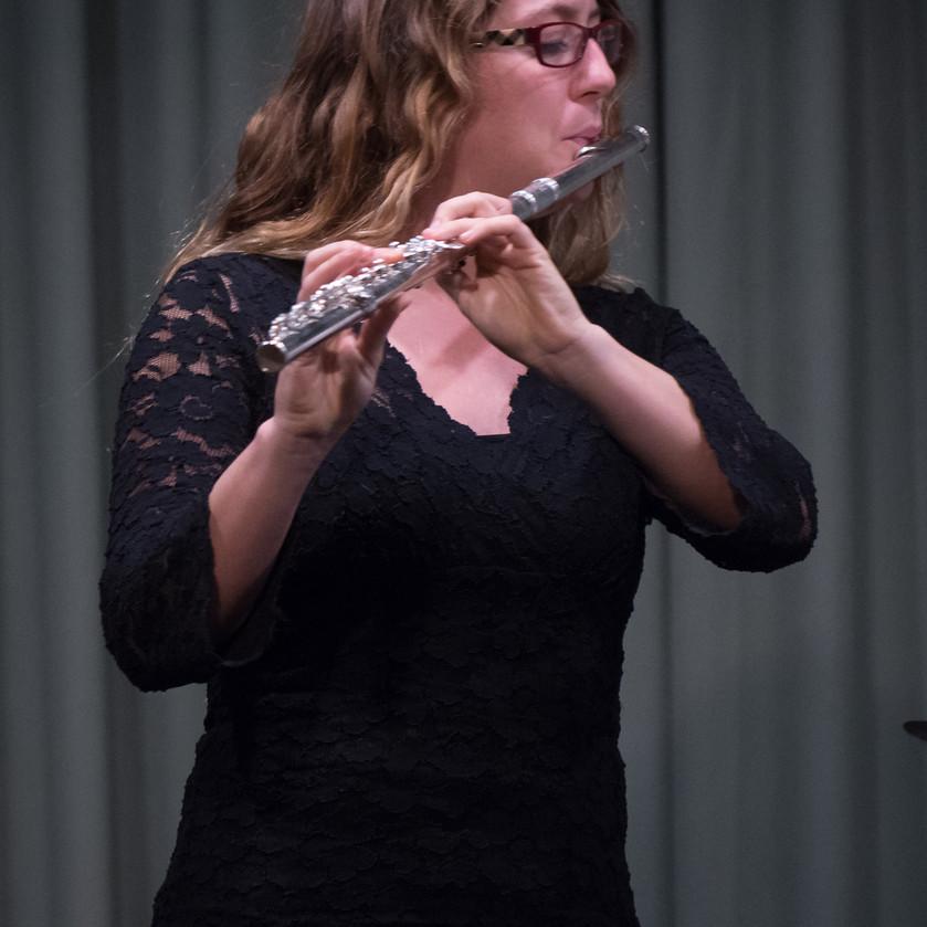 Rose Lombardo, flute
