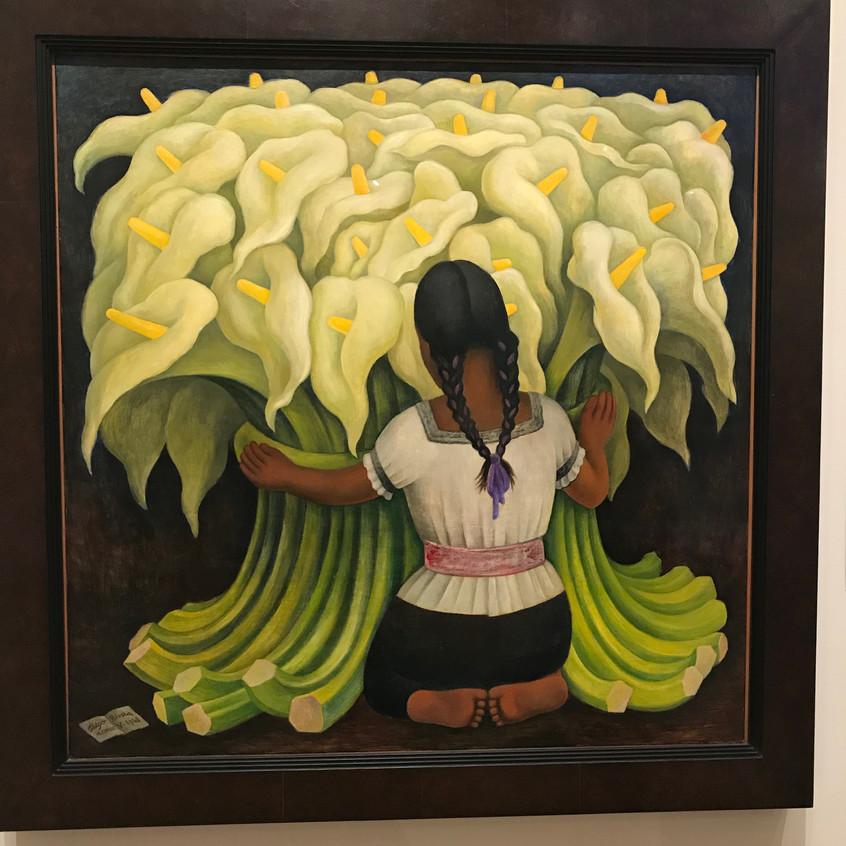 Diego Rivera 1941 Girls with Lilies