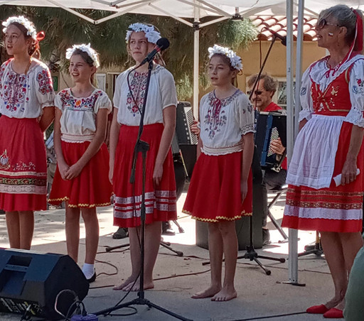 To Sing a Czech Anthem in Balboa Park Makes me Feel so Alive and Happy!