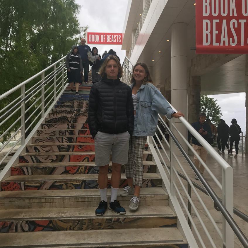 Getty museum Beast exhibit deti - 1