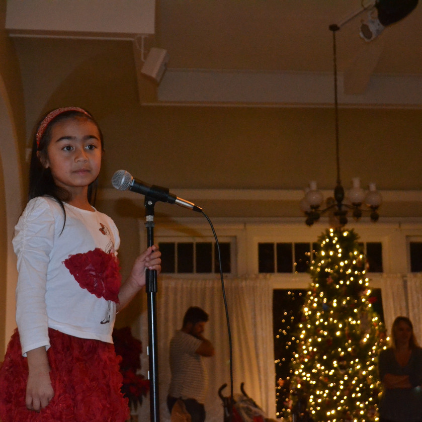 Singing for St. Nick!