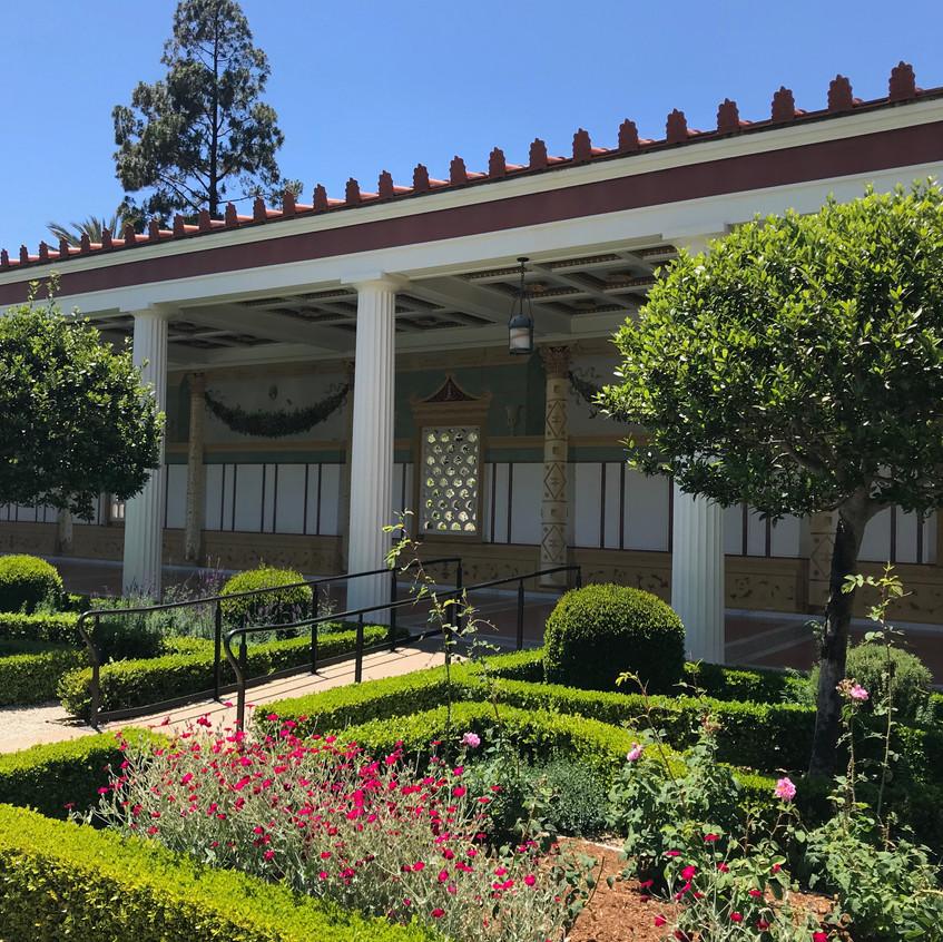 Getty Villa zahrada - 1