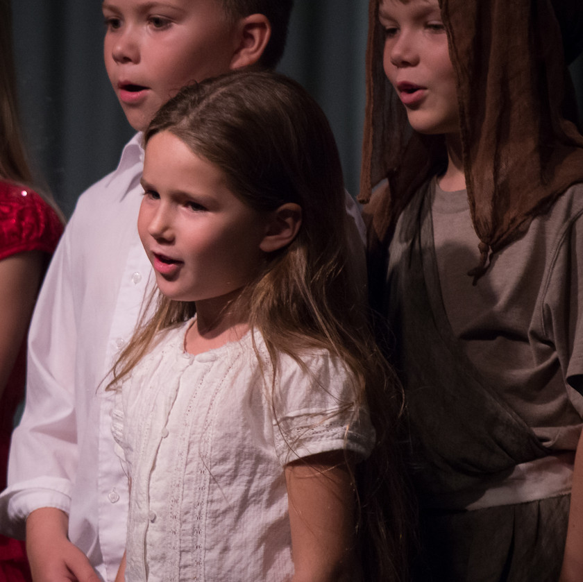 Classical song performed by children