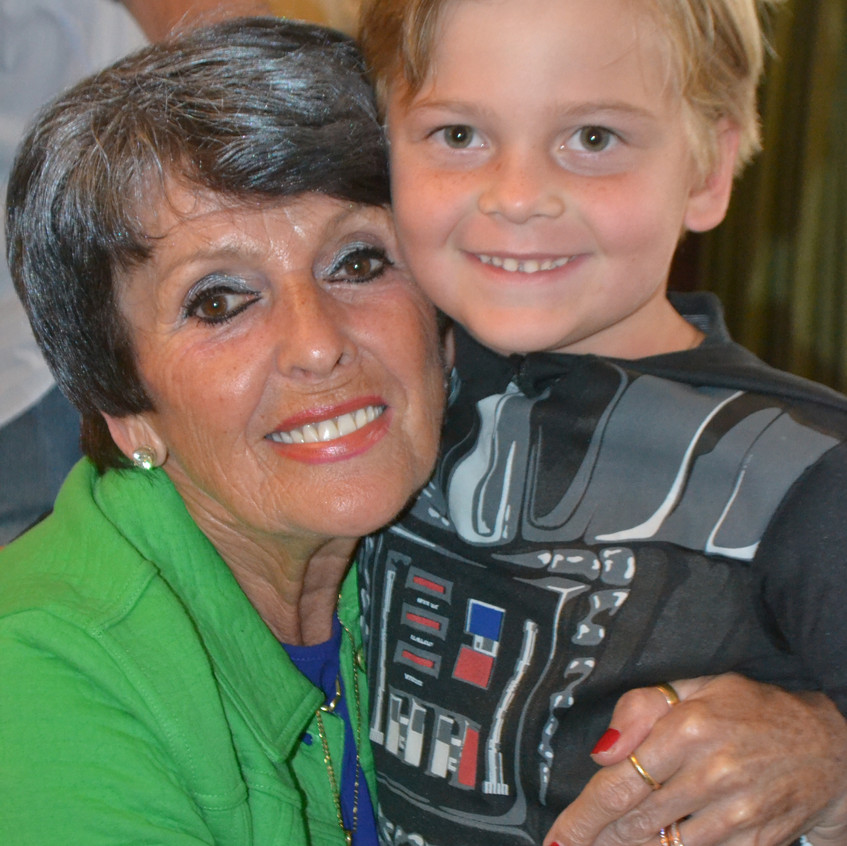 Babi and a grandson! - 1