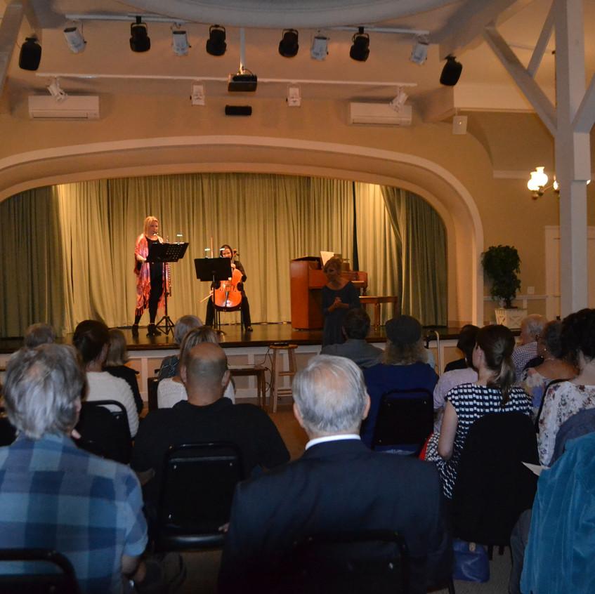 Joanne Pernela, cello  & Beth Ross Buckley, Flute - 1