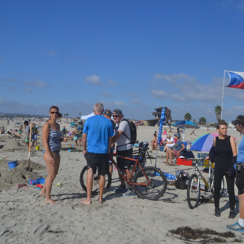 participants from Oceanside on the bikes! - 1