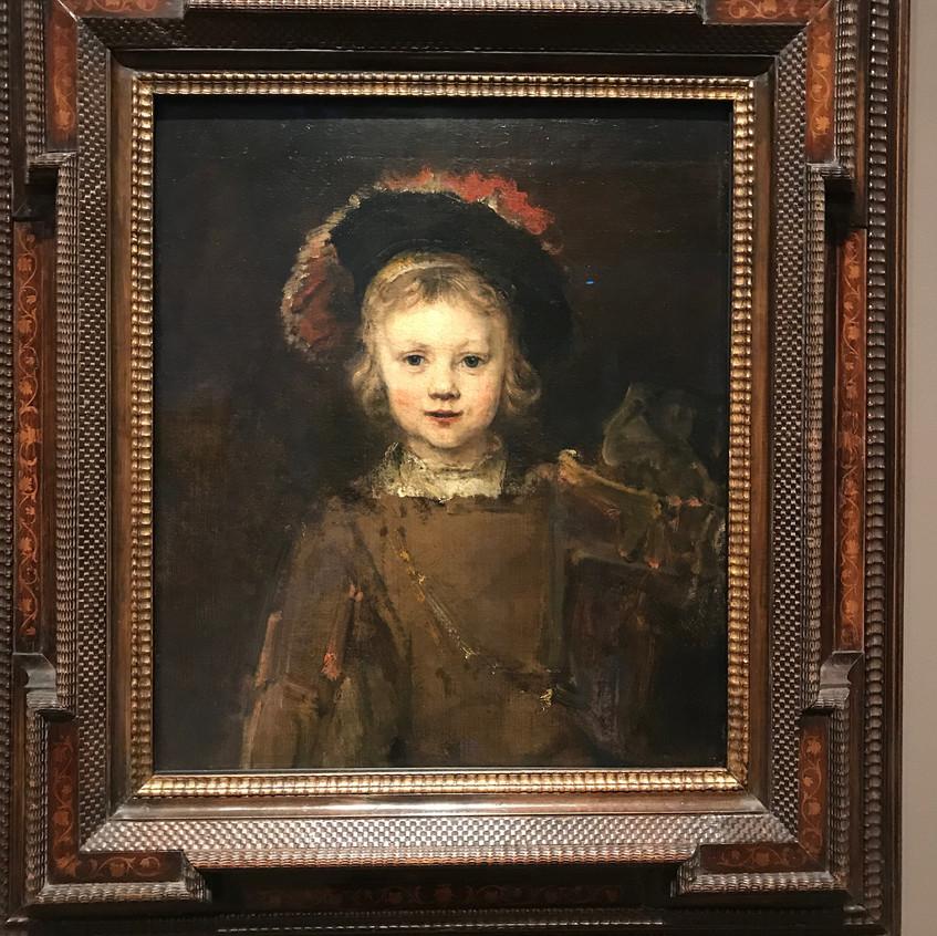 """Rembrandt 1606-1669 """"Tito"""""""