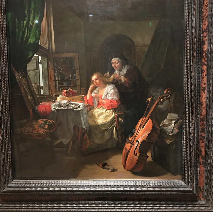 Baroque, 1658 Gabriel Metsu - 53