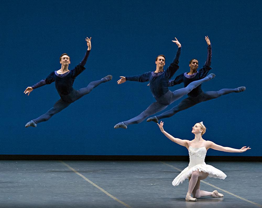 Balanchine's troupe