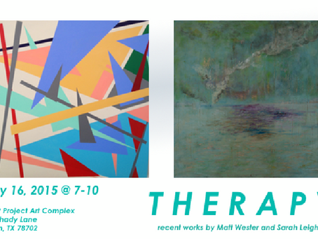 THERAPY- May 2015 show at PUMP Project