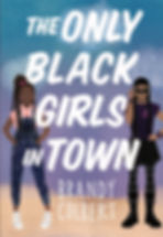 The Only Black Girls In Town final cover