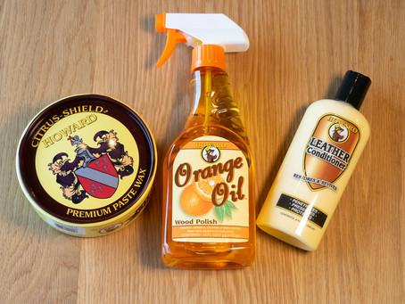 【実践】オイル仕上げのダイニングテーブルをオレンジオイルを使ってメンテナンスしてみました!