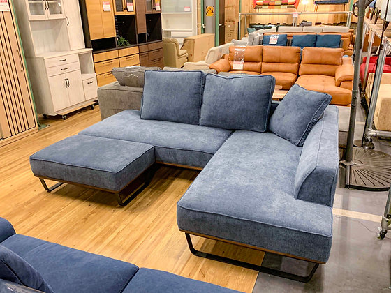 COUCH SOFA 3SET - BL