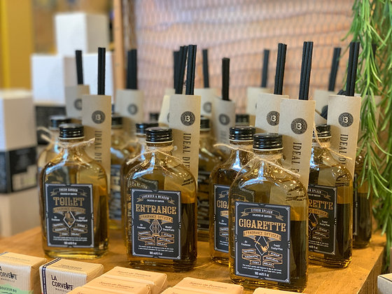 WHISKEY BOTTLE REED DIFFUSER