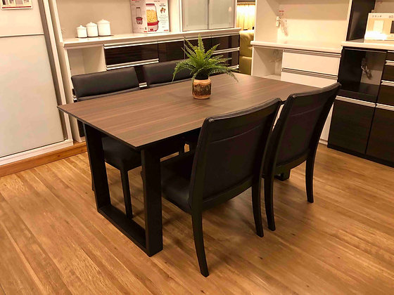 DINING TABLE 5SET - 150 - WN