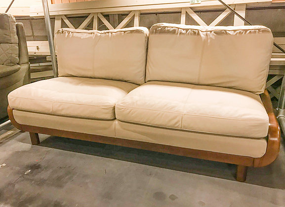 REAL LEATHER 3P SOFA (BE)