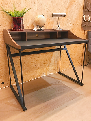 LEATHER TOP DESK (BR)