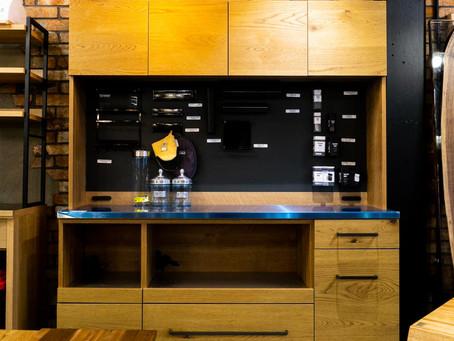オシャレで使いやすいキッチンを実現してくれるユニットタイプのキッチンボード