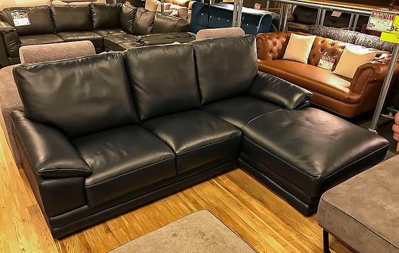 REAL LEATHER COUCH SOFA 2SET (DBL)