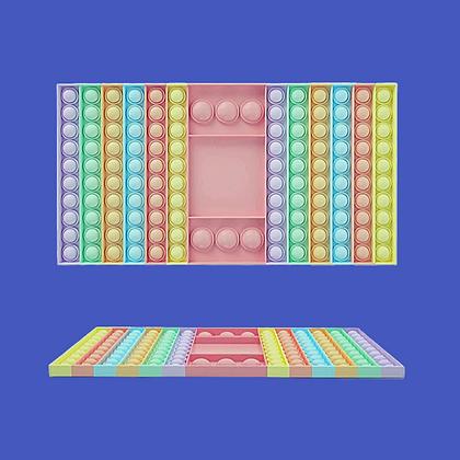 POP IT- פופאיט שש בש בצבעי פסטל