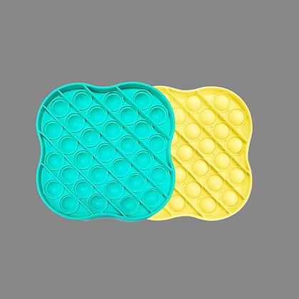 POP IT- מרובע מעוגל טורקיז או צהוב