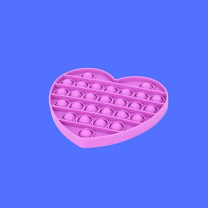לב סגול-POP IT