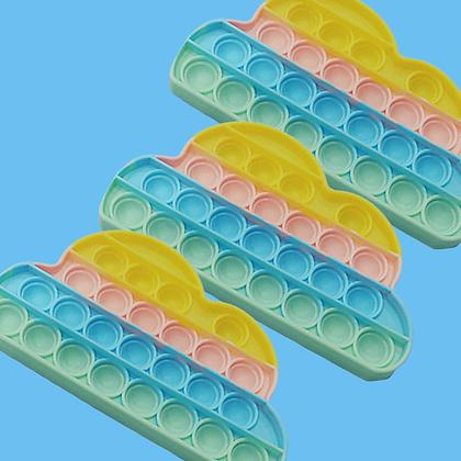POP IT- פופאיט בצורת ענן בצבעי פסטל
