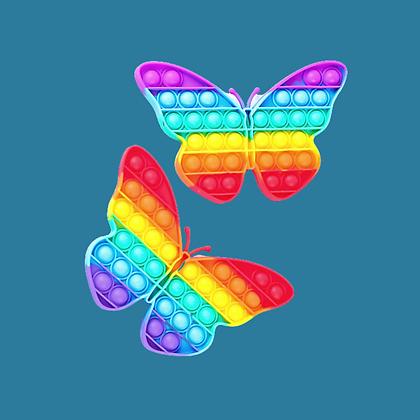 POP IT- פרפר צבעוני