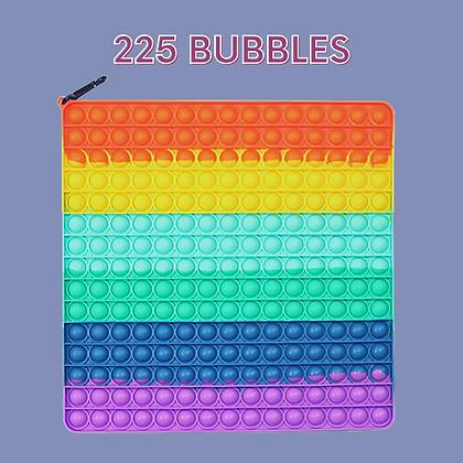 POP IT- פופאיט ענק 225 בועות צבעוני