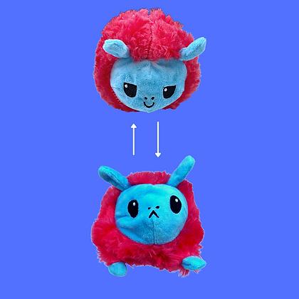 כבשה מתהפכת- פידג'ט בובת מצב רוח