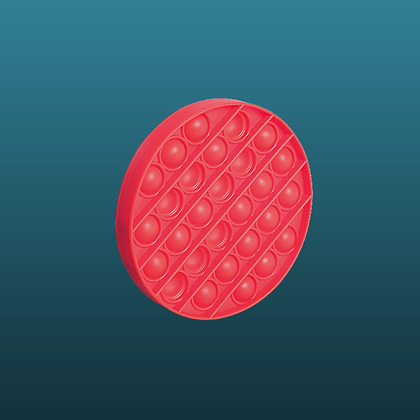 POP IT- עגול אדום