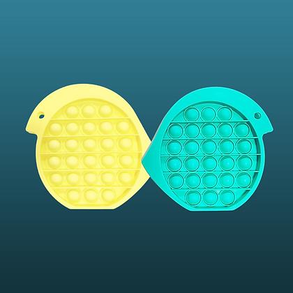 POP IT- ציפור טורקיז או צהוב