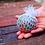 Thumbnail: כדור ענבים קטן עם רשת בצבע אקראי