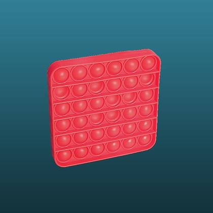 POP IT- מרובע אדום