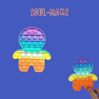 POP IT- פופיט בצורת דמות צבעונית
