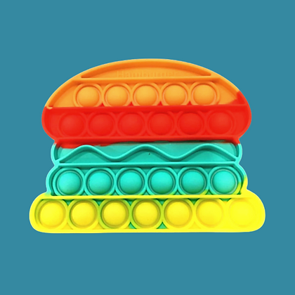 POP IT- המבורגר צבעוני נדיר