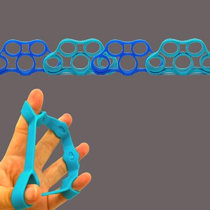 טבעות סיליקון לאצבעות למתיחה והרגעה