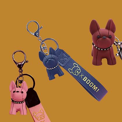 מחזיק מפתחות מעוצב כלב