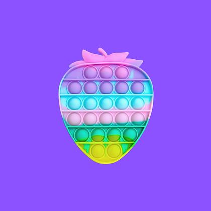 POP IT- פופאיט תות צבעוני בצבעי פסטל