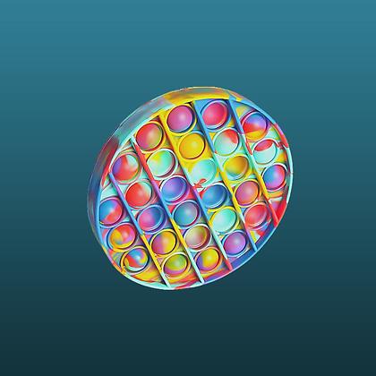 POP IT- עגול צבעוני נדיר דגם 2