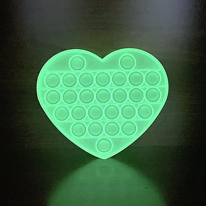 לב זוהר -POP IT