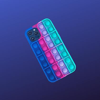 POP IT- מגן פופיט צבעוני לאייפון איקס