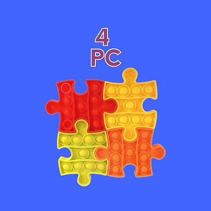 POP IT- פאזל 4 חלקים כלולים