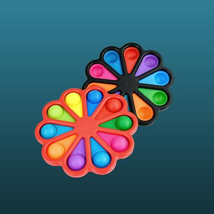 POP IT- ענק, שחור, כחול או אדום רנדומלי SIMPLE DIMPLE