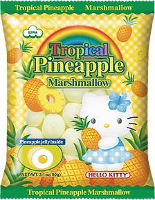 Tropical Pineapple_Hello Kitty Marshmall