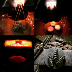 Forged Scroll Ornaments